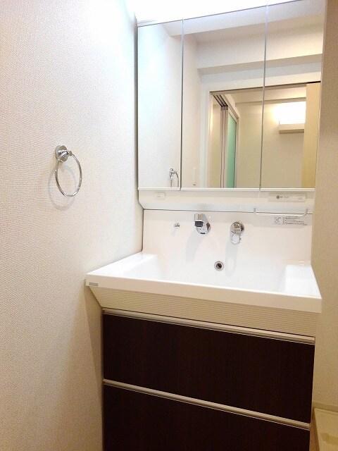 セゾン アキ 02040号室の洗面所