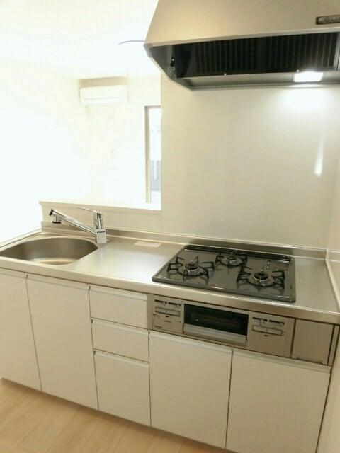 フラット ウエスト 02030号室のキッチン