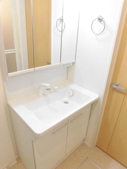 フラット ウエスト 02030号室の洗面所