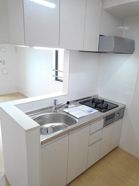 アステール AO Ⅱ 02030号室のキッチン