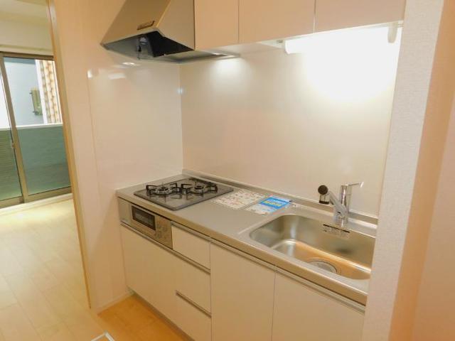 メゾン・ド・yu Ⅰ 01020号室のキッチン
