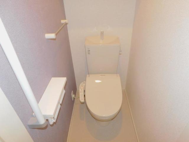 メゾン・ド・yu Ⅰ 01020号室のトイレ