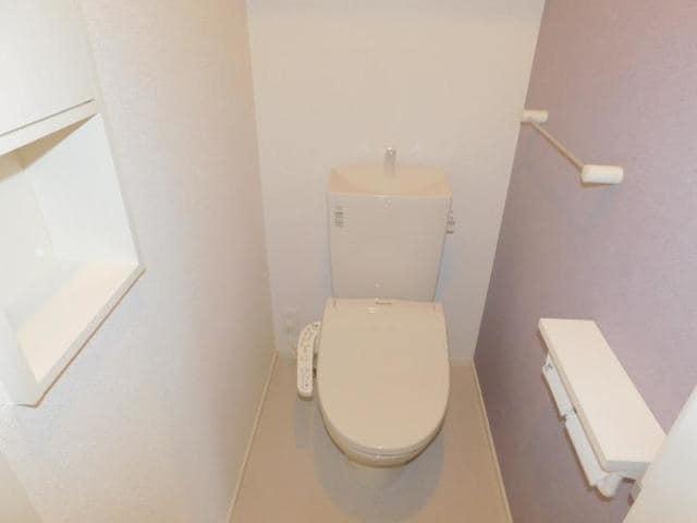 メゾン・ド・yu Ⅱ 01010号室のトイレ