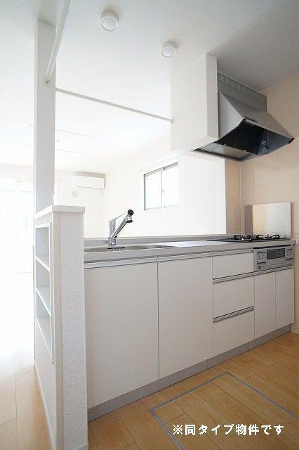 シュウ 01010号室のキッチン