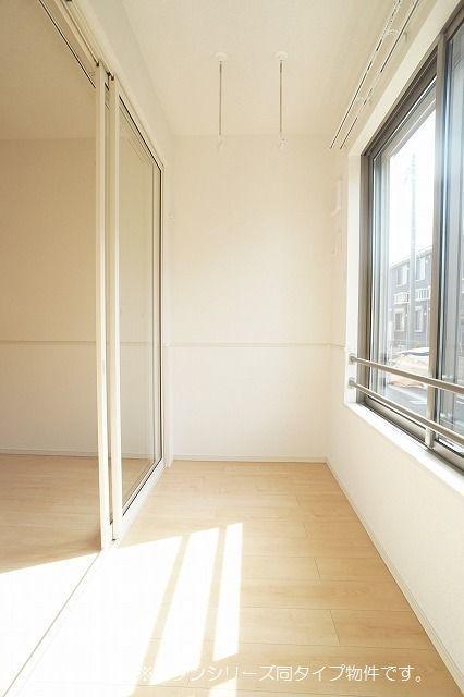 シュウ 01010号室のバルコニー
