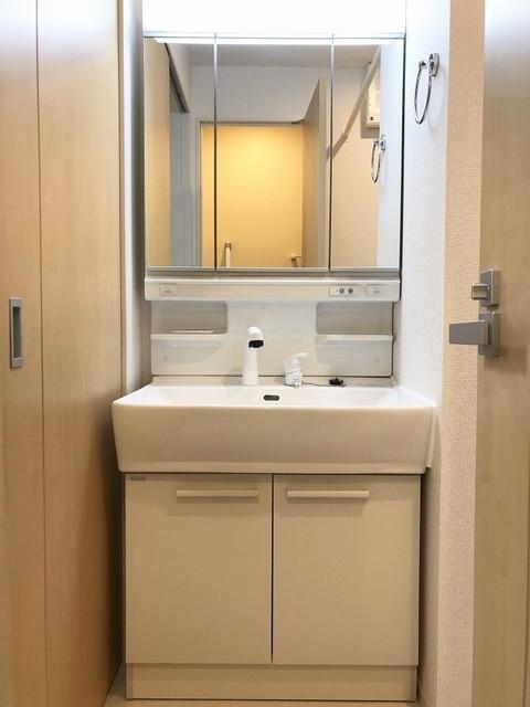 メゾンシャルムⅠ 01020号室の洗面所
