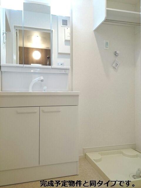 マーガレット 02010号室の洗面所