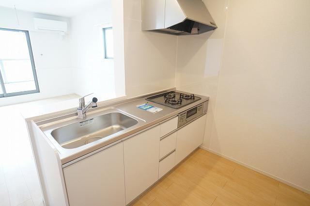 ストーン ケイプB 02010号室のキッチン