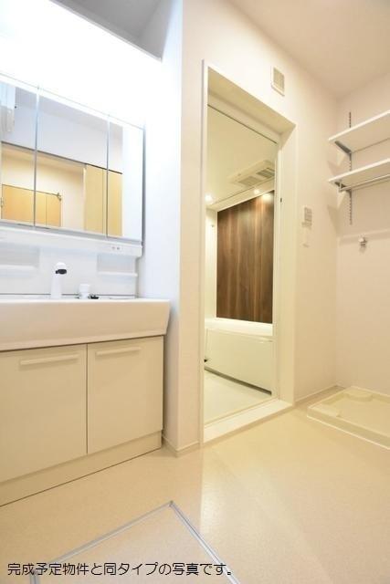 ストーン ケイプB 02010号室の洗面所