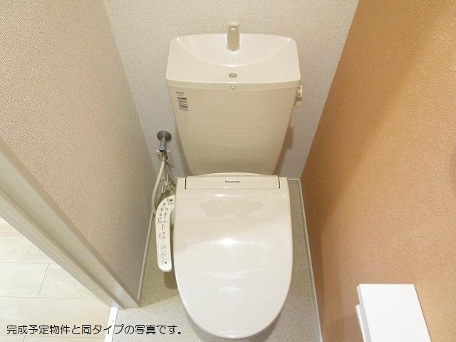 ストーン ケイプB 02010号室のトイレ