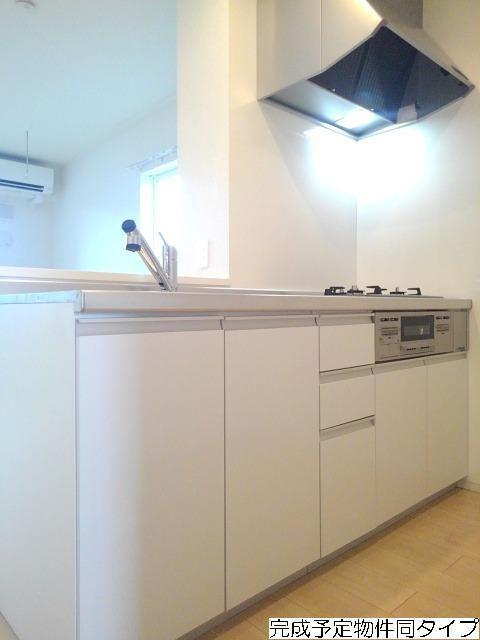 ベルフルール 02010号室のキッチン