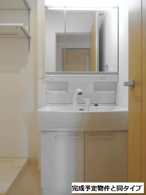 ベルフルール 02010号室の洗面所