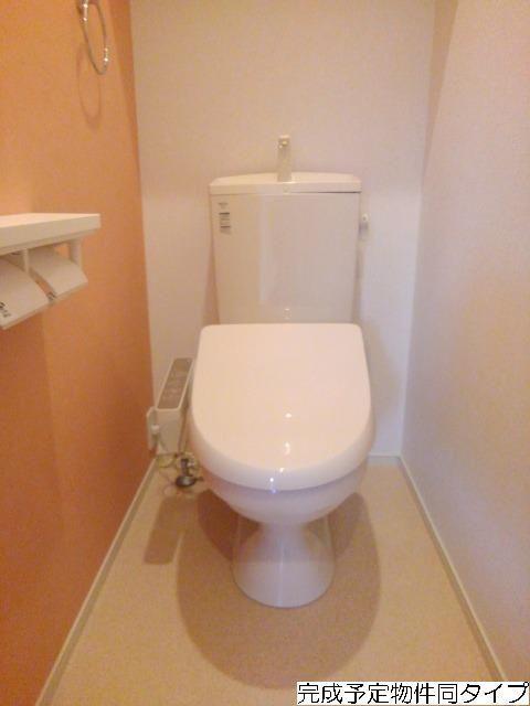 ベルフルール 02010号室のトイレ