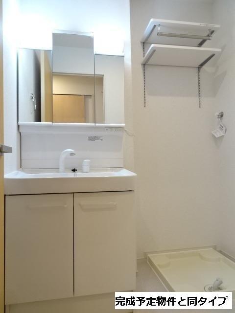ベルフルール 02020号室の洗面所