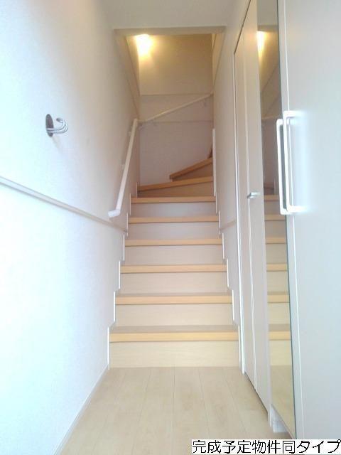 ベルフルール 02030号室の玄関