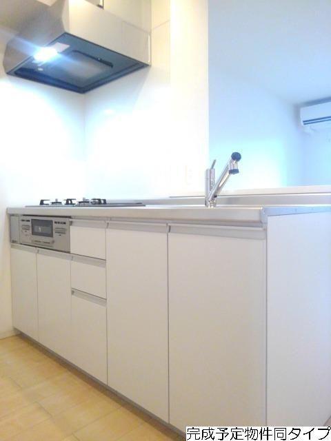 ベルフルール 02030号室のキッチン