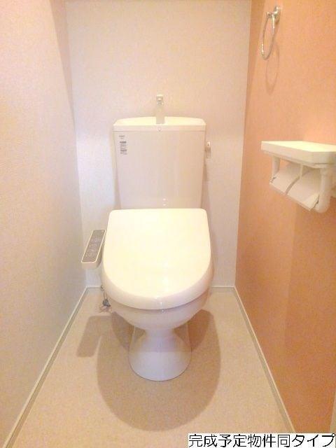 ベルフルール 02030号室のトイレ