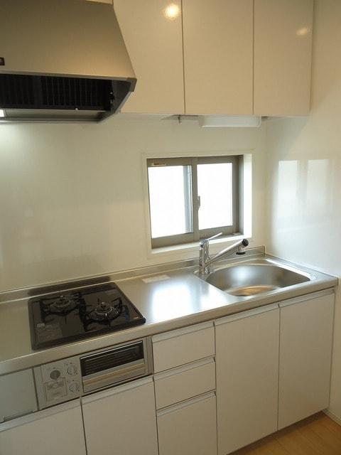 シャトレー 205号室のキッチン