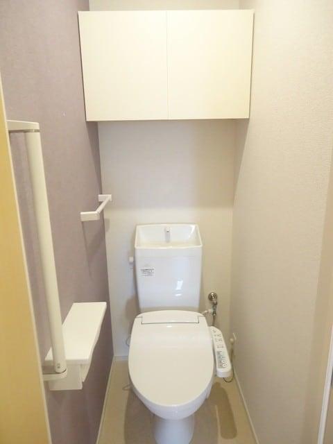 シャトレー 205号室のトイレ