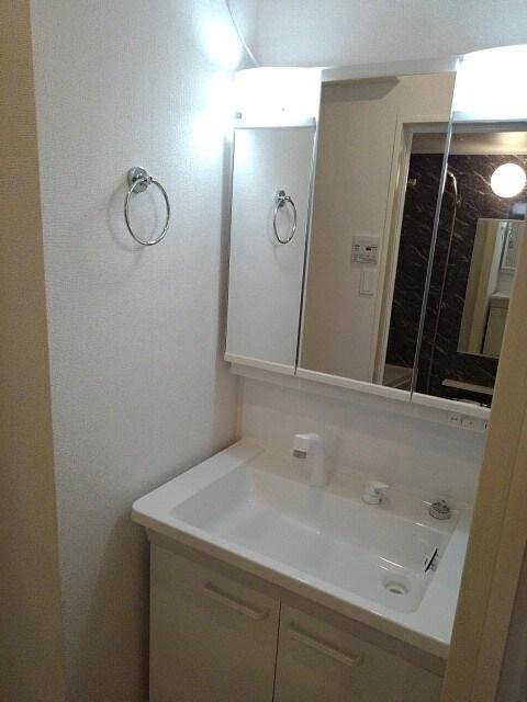 シダーコート 206号室の洗面所