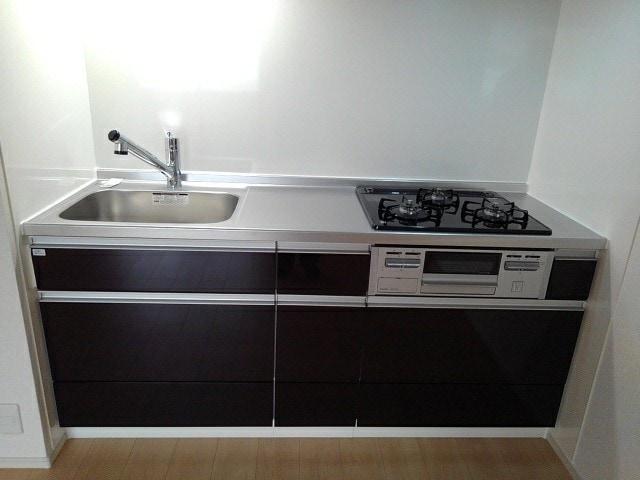 フルール小柳 105号室のキッチン