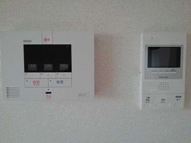 フルール小柳 105号室のセキュリティ