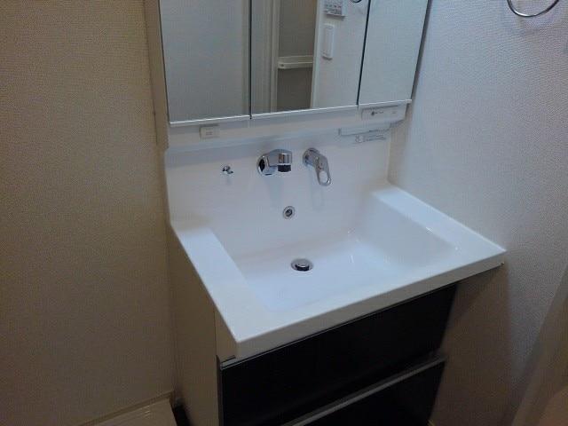 フルール小柳 203号室の洗面所