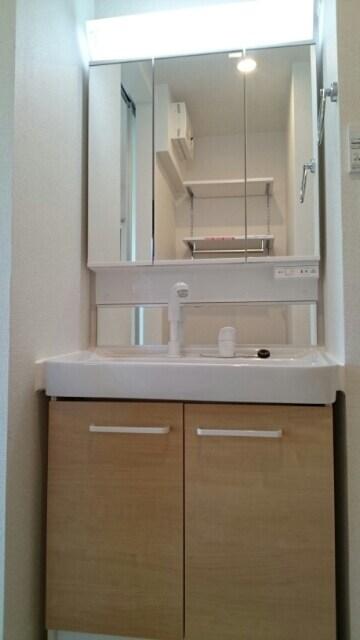 サニーウェル 101号室の洗面所