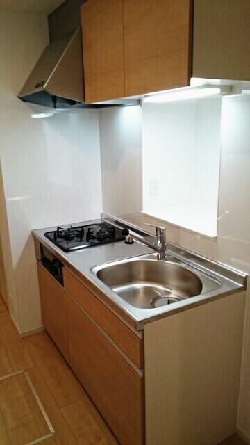 サニーウェル 105号室のキッチン