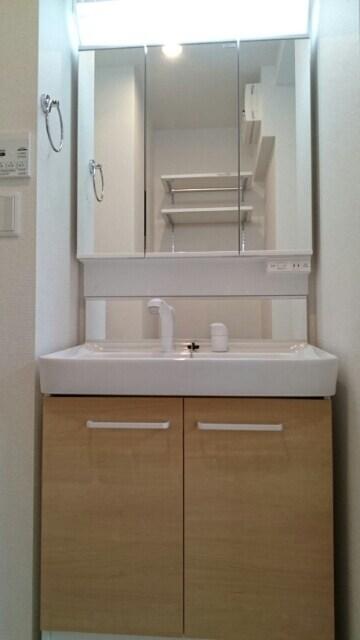 サニーウェル 105号室の洗面所