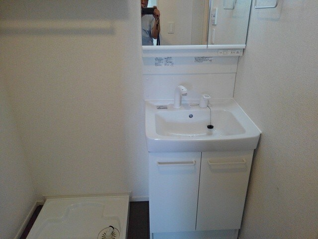グリシーヌ 201号室の洗面所