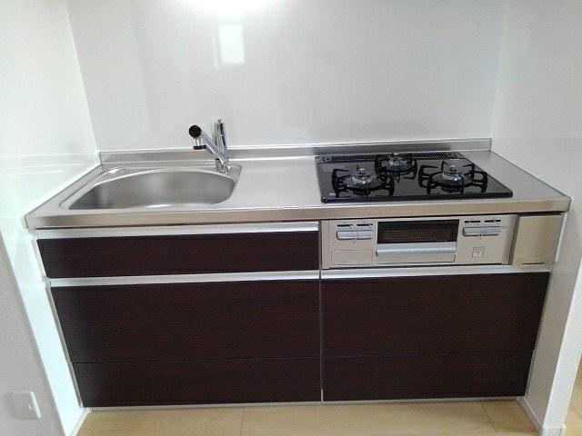 ヴィラ・サンセールⅡ 108号室のキッチン