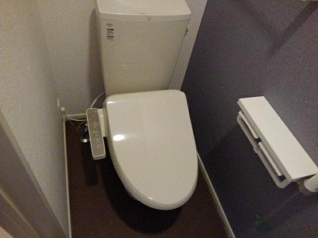 ヴィラ・サンセールⅡ 108号室のトイレ