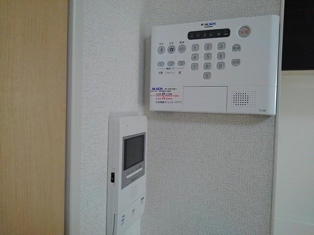 ヴィラ・サンセールⅡ 108号室のセキュリティ