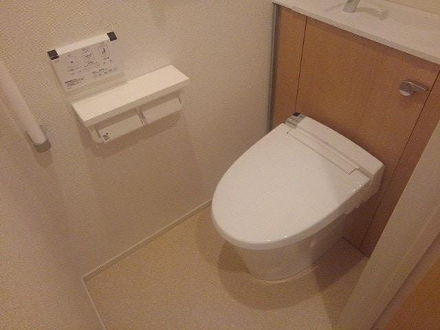 アゼリア調布 105号室のトイレ