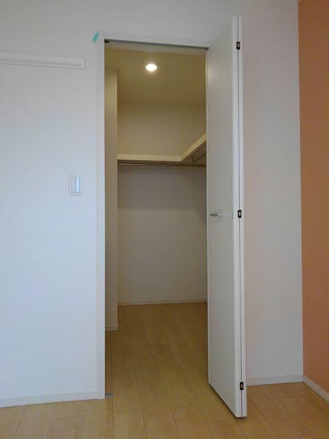 Maison de フルール 202号室のベッドルーム