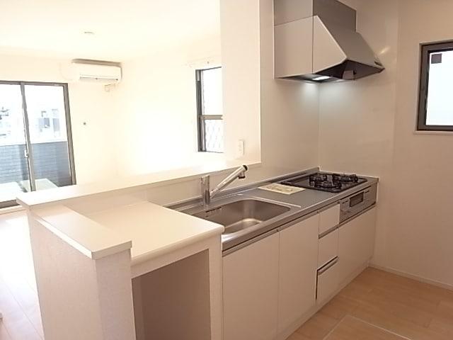 BELLE・CASA A 103号室のキッチン