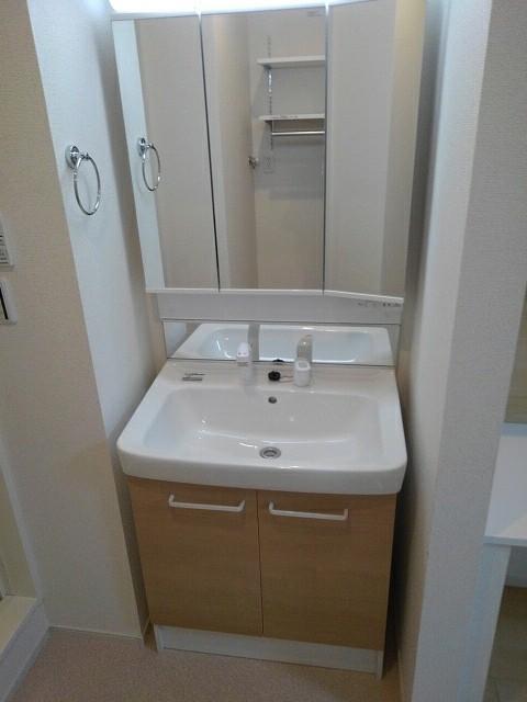 ブレイブC 103号室の洗面所