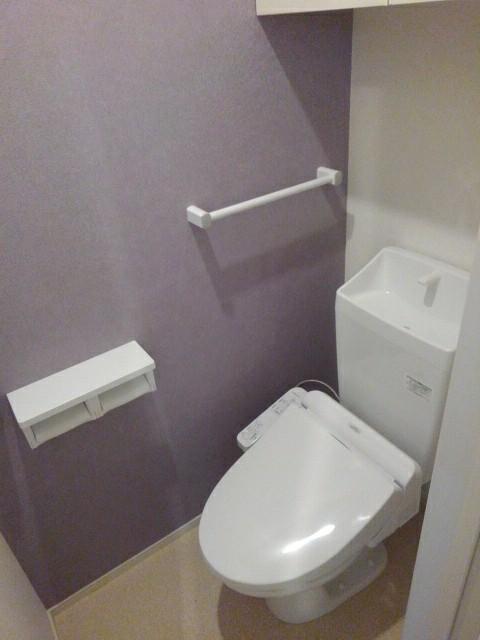 ブレイブC 203号室の風呂