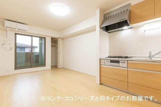 フォレスト 横須賀 202号室のキッチン