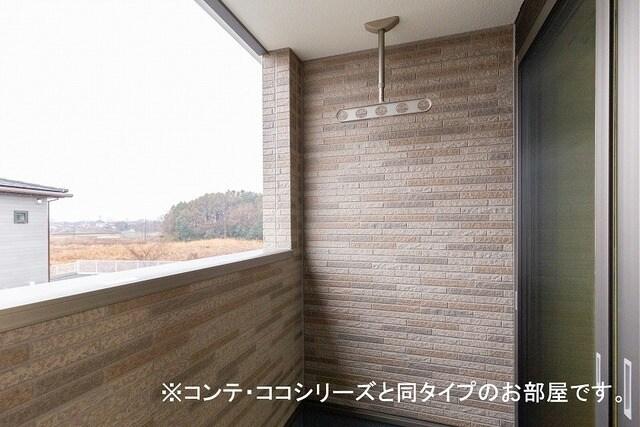 フォレスト 横須賀 202号室のバルコニー