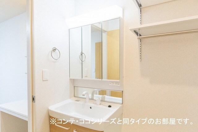 フォレスト 横須賀 202号室の洗面所