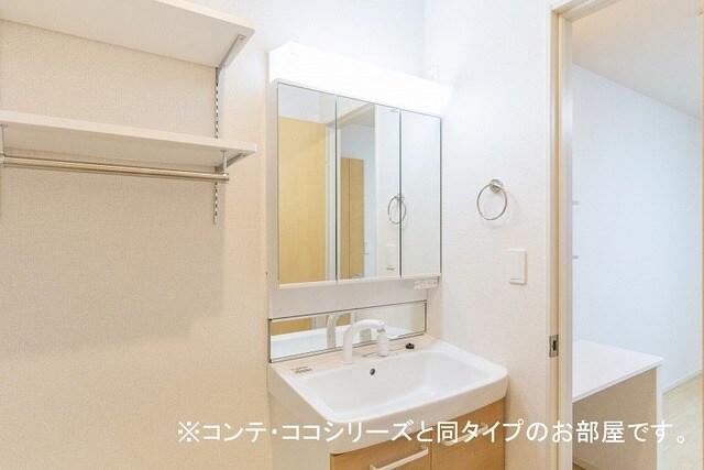 フォレスト 横須賀 206号室の洗面所