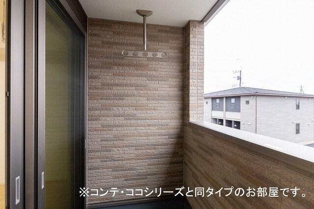 フォレスト 横須賀 206号室のバルコニー