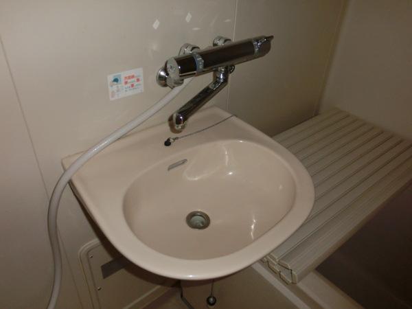メゾンパロアルト 202号室の洗面所