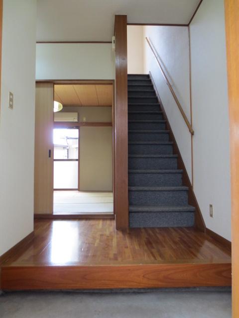 第2昌永コーポの玄関