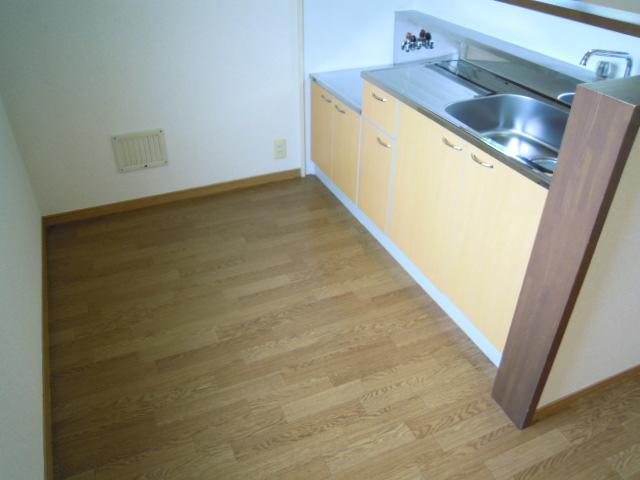 アパートメント294番館A棟 A201号室のキッチン