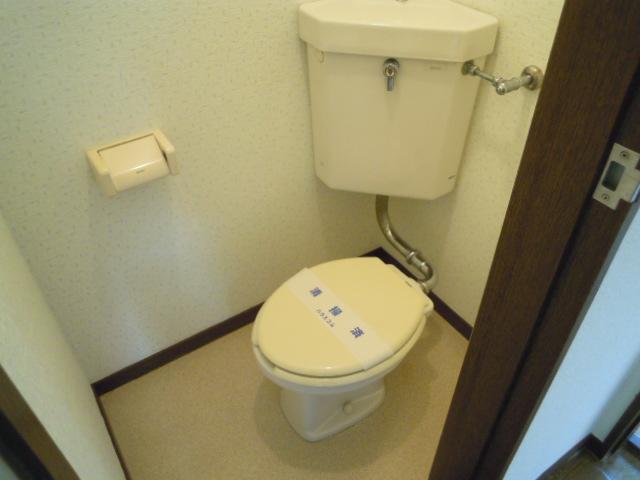 アパートメント294番館A棟 A201号室のトイレ