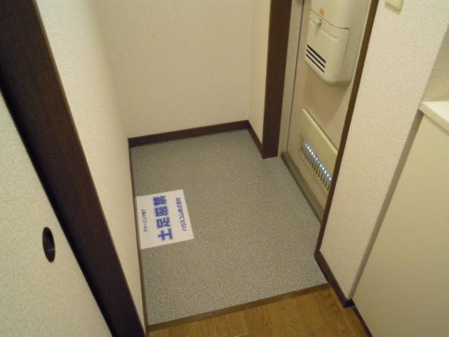 アパートメント294番館A棟 A201号室の玄関