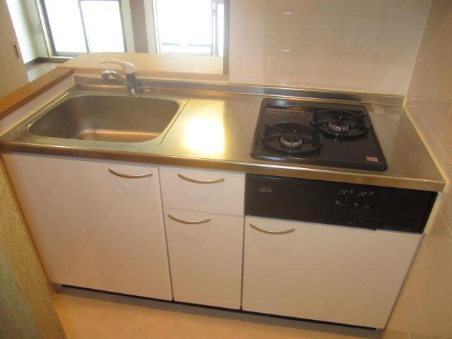 アクアタウンイーストⅡ 603号室のキッチン